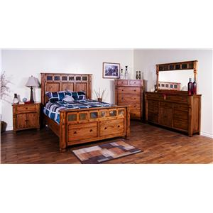 Sunny Designs Sedona King Bedroom Group