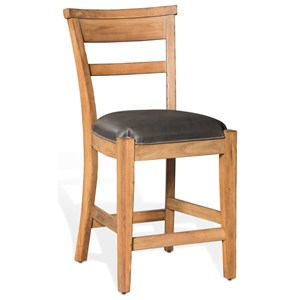 """Casual Style 24"""" Counter Height Barstool"""