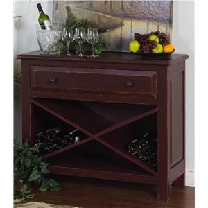 Sonoma Accent Chest with Wine Storage