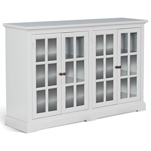 Accent Chest with Adjustable Shelving