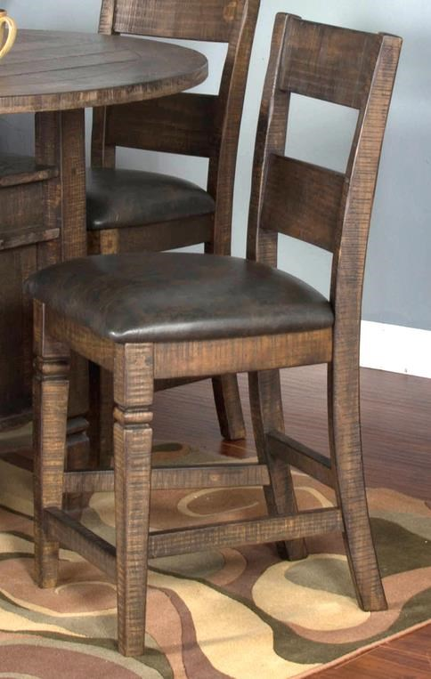"Thatcher Thatcher 24"" Counter Barstool by Sunny Designs at Morris Home"