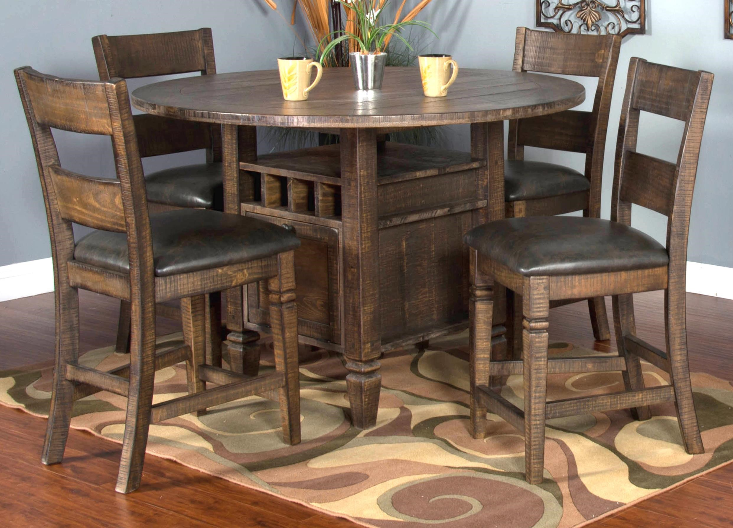 Thatcher Thatcher 5-Piece Dining Set by Sunny Designs at Morris Home