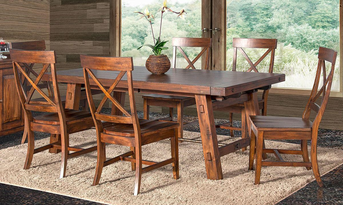 Tuscany 5 Piece Dining Set by Sunny Designs at Darvin Furniture