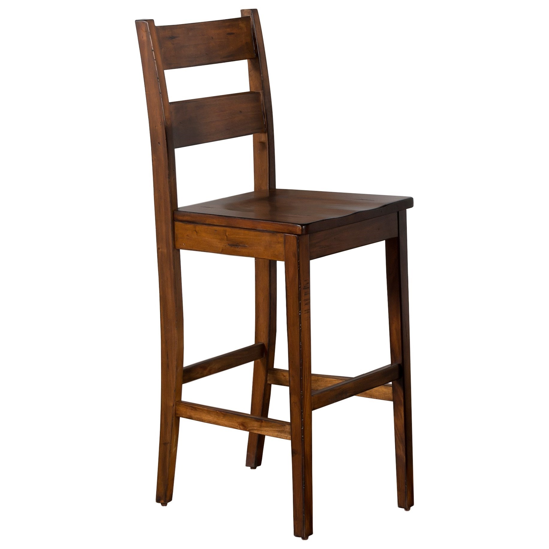 Tuscany Ladderback Barstool by Sunny Designs at Darvin Furniture