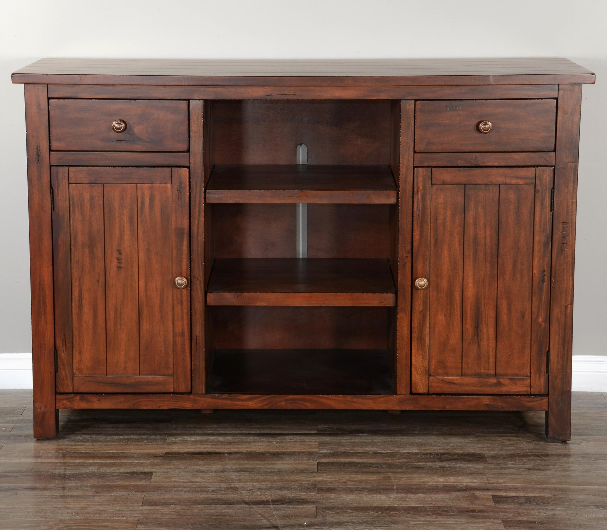 Tuscany Back Bar Base by Sunny Designs at Powell's Furniture and Mattress