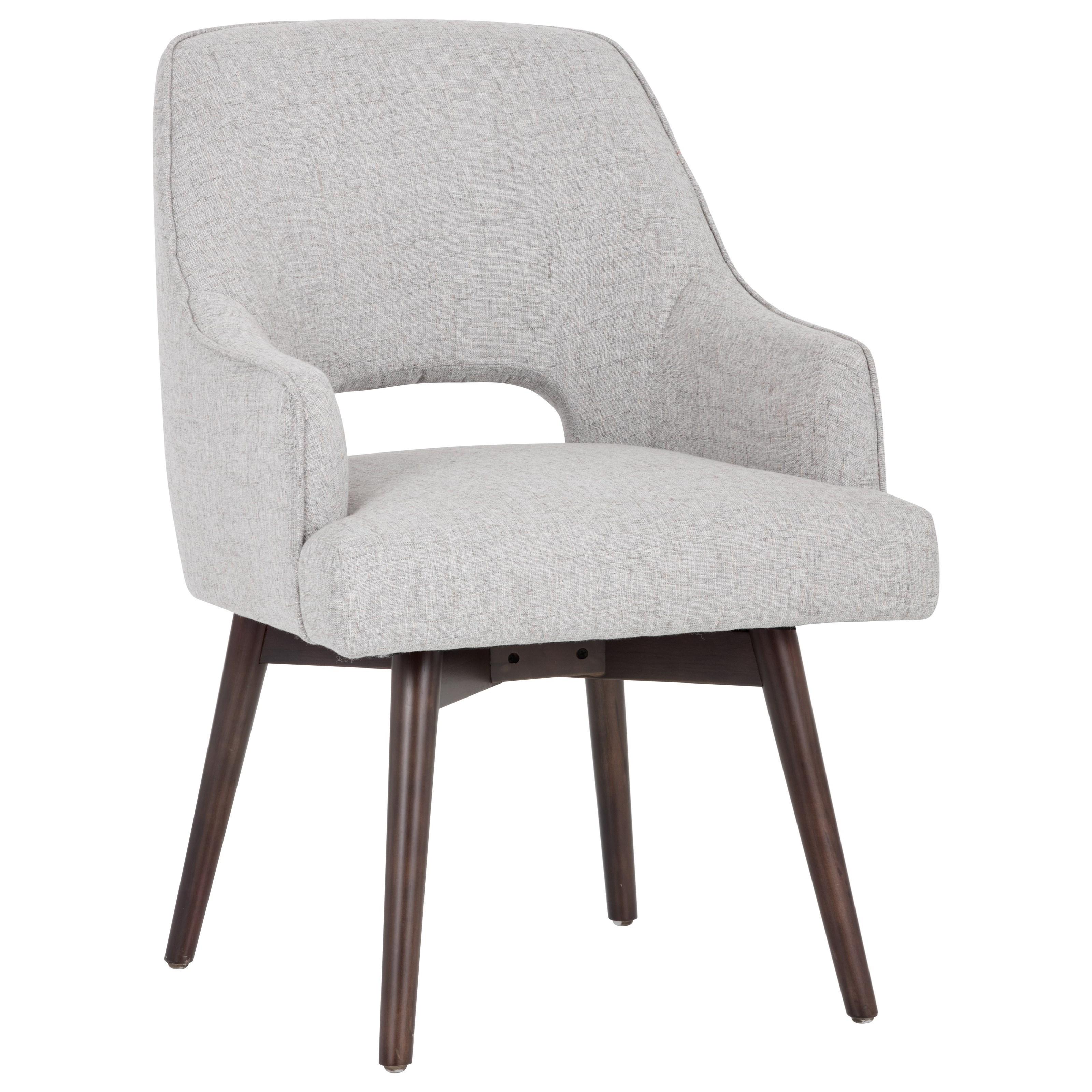 5West Newton Swivel Armchair by Sunpan Imports at Reid's Furniture