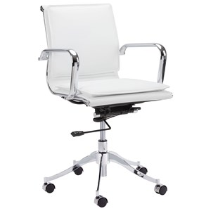 Morgan Faux Leather Office Chair