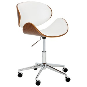 Quinn Faux Leather Office Chair