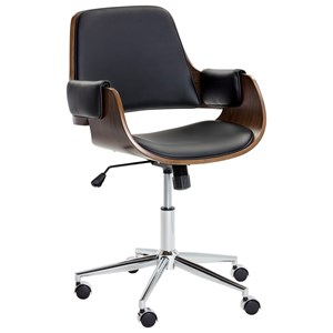 Kellan Faux Leather Office Chair