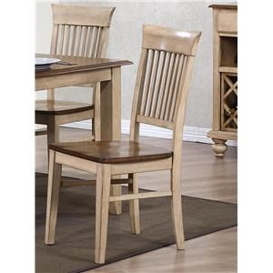 Rack Back Dining Side Chair
