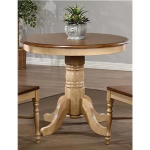 "36"" Round Pedestal Dining Table"