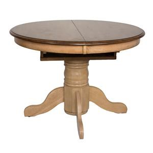 Round or Oval Pedestal Dining Table