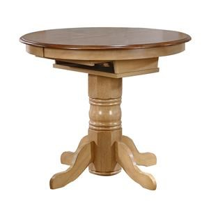 Caffe' Height Pedestal Dining Table