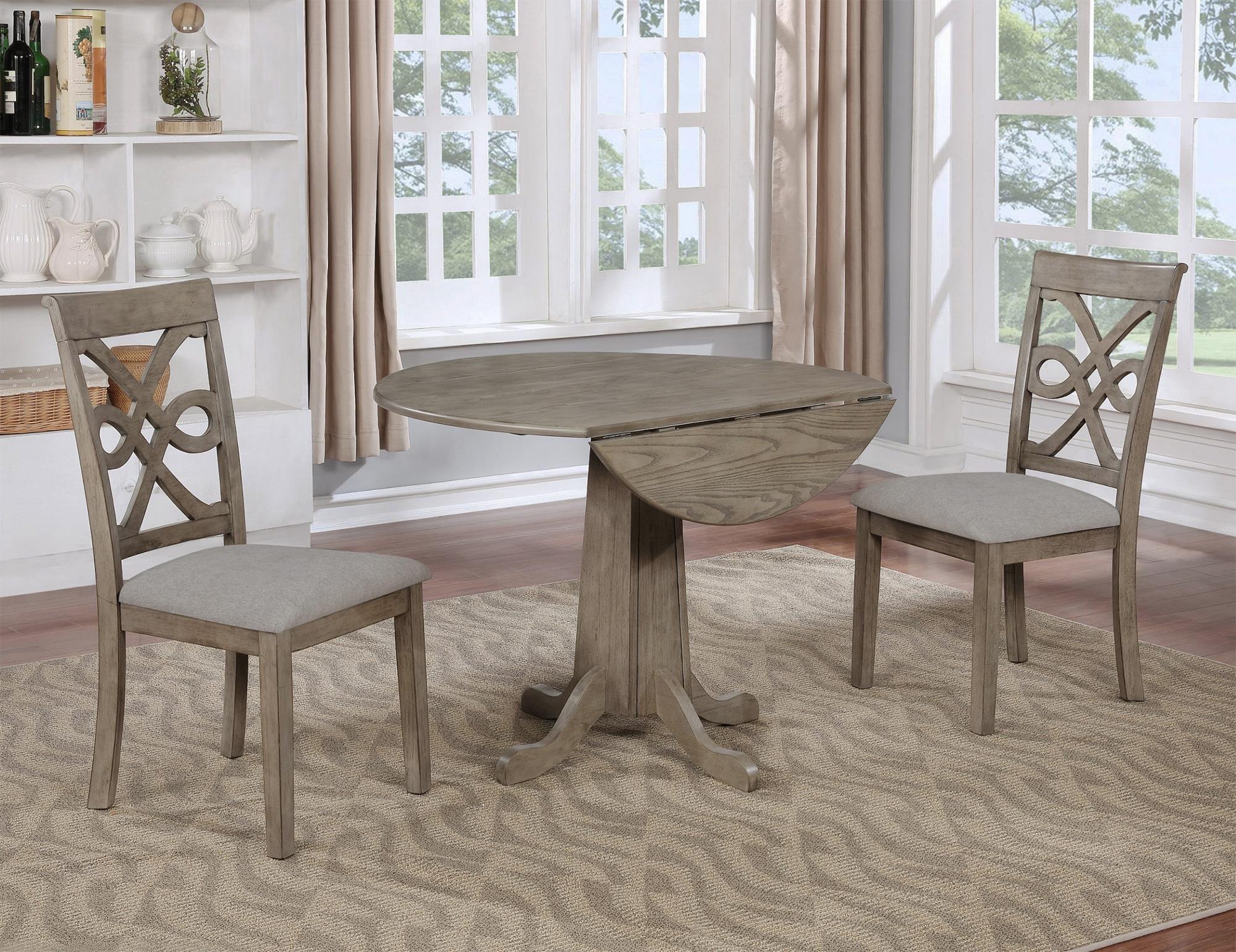 Charmont 3PC Drop-Leaf Table & Chair Set at Rotmans