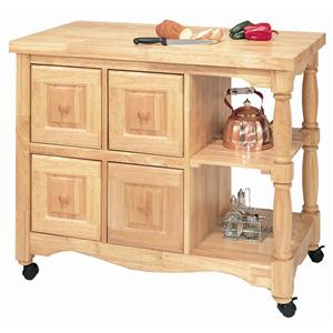 Sunset Trading Co. Sunset Selections Kitchen Cart