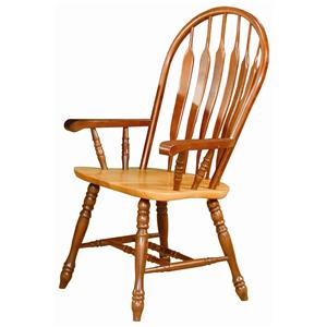 Sunset Trading Co. Sunset Selections Dining Arm Chair