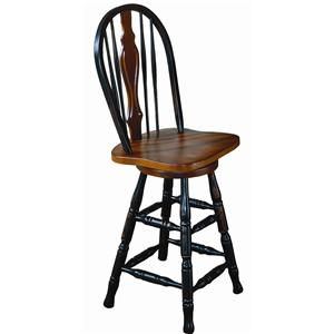 Sunset Trading Co. Sunset Selections Swivel Barstool