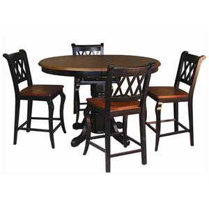 Sunset Trading Co. Sunset Selections 5 Piece Cafe Set