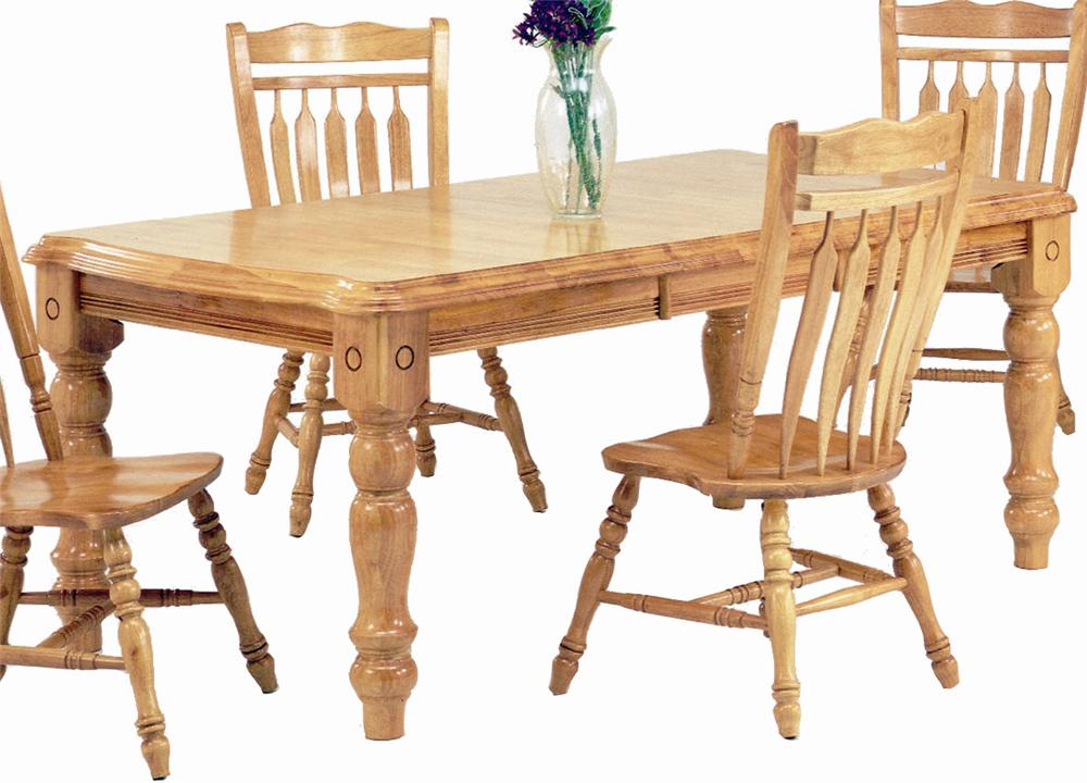 Sunset Selections Leg Dining Table by Sunset Trading Co. at Dunk & Bright Furniture