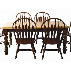 Sunset Trading Co. Sunset Selections Leg Dining Table