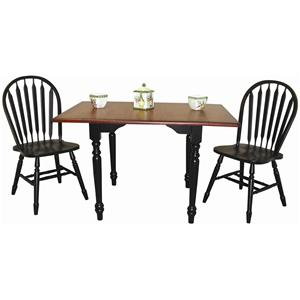 Sunset Trading Co. Sunset Selections 3 Piece Dinette Set