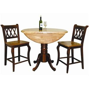 Sunset Trading Co. Sunset Selections 3 Piece Cafe Set