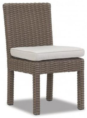 Coronado Armless Dining Chair by Sunset West at Belfort Furniture