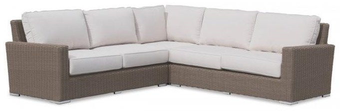 Coronado 3 Piece Sectional by Sunset West at Belfort Furniture