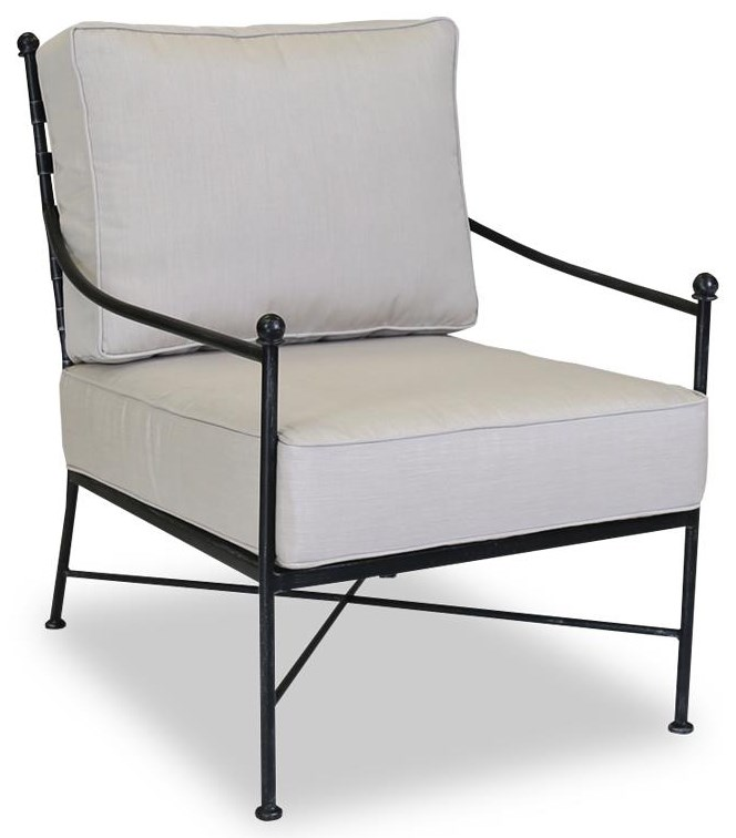 Provence Outdoor Club Chair by Sunset West at Belfort Furniture
