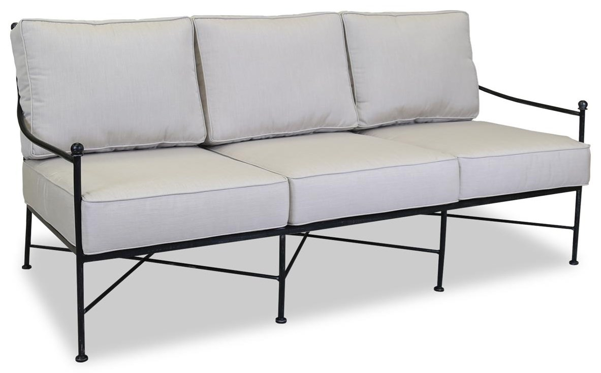 Provence Outdoor Sofa by Sunset West at Belfort Furniture