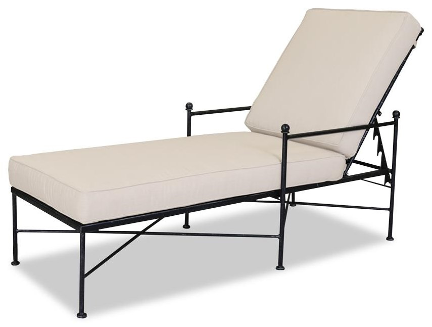 Provence Outdoor Adjustable Chaise by Sunset West at Belfort Furniture