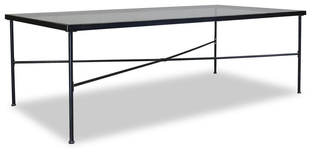 Provence Outdoor 84 Inch Rectangular Dining Table by Sunset West at Belfort Furniture