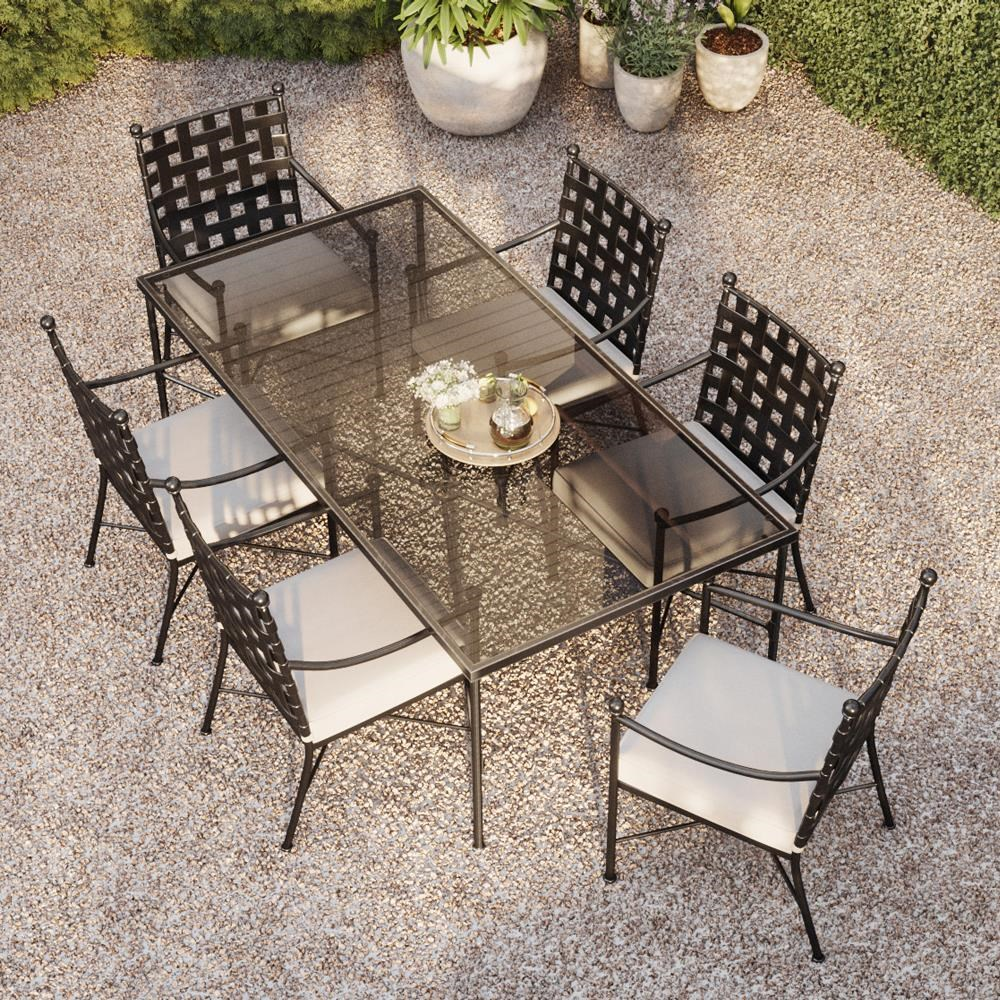 Provence 7 Piece Outdoor Dining Set by Sunset West at Belfort Furniture