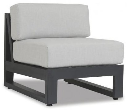 Redondo Armless Club Chair by Sunset West at Belfort Furniture