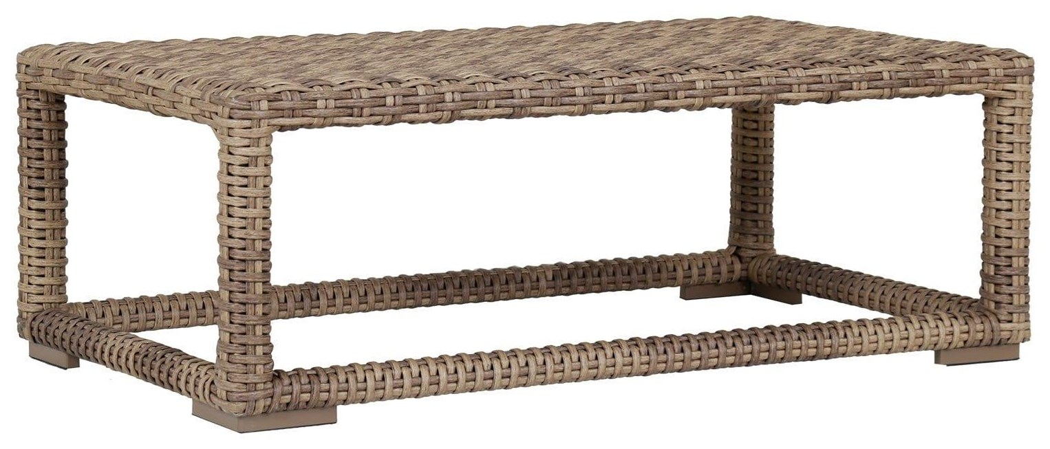 Havana Outdoor Coffee Table by Sunset West at Belfort Furniture