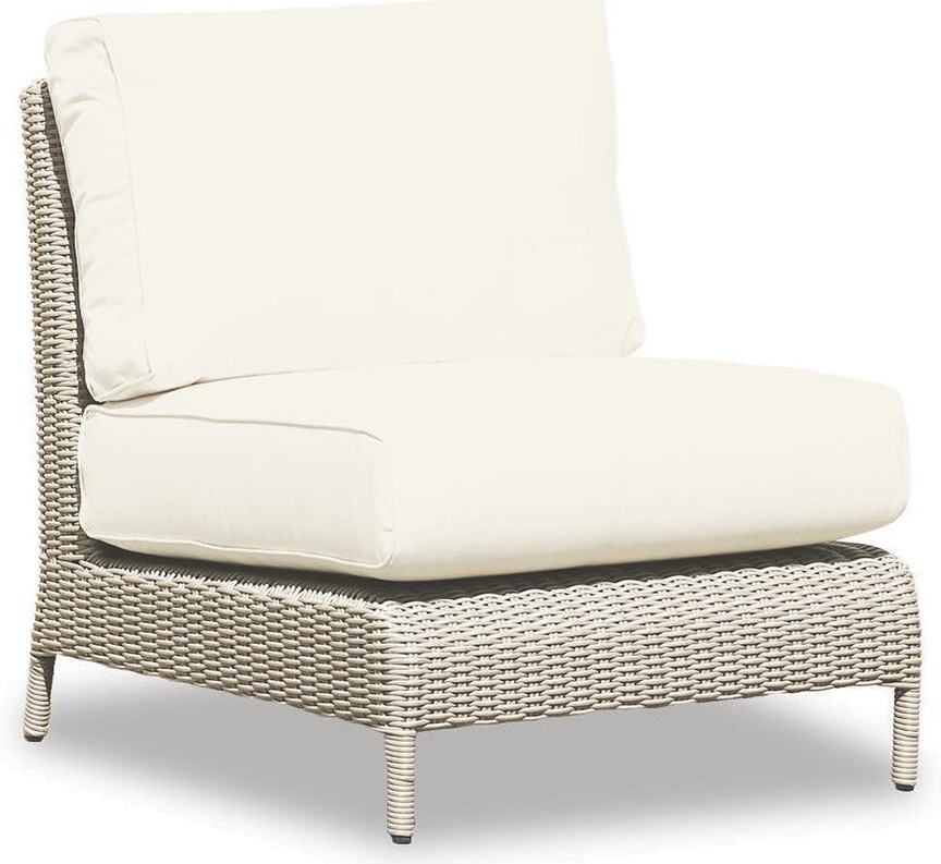 Manhattan Armless Club Chair by Sunset West at Belfort Furniture