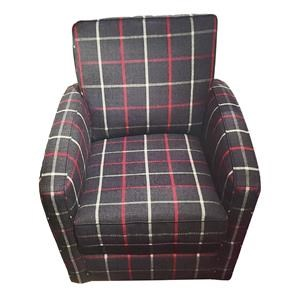 Swivel Chair with Track Arms