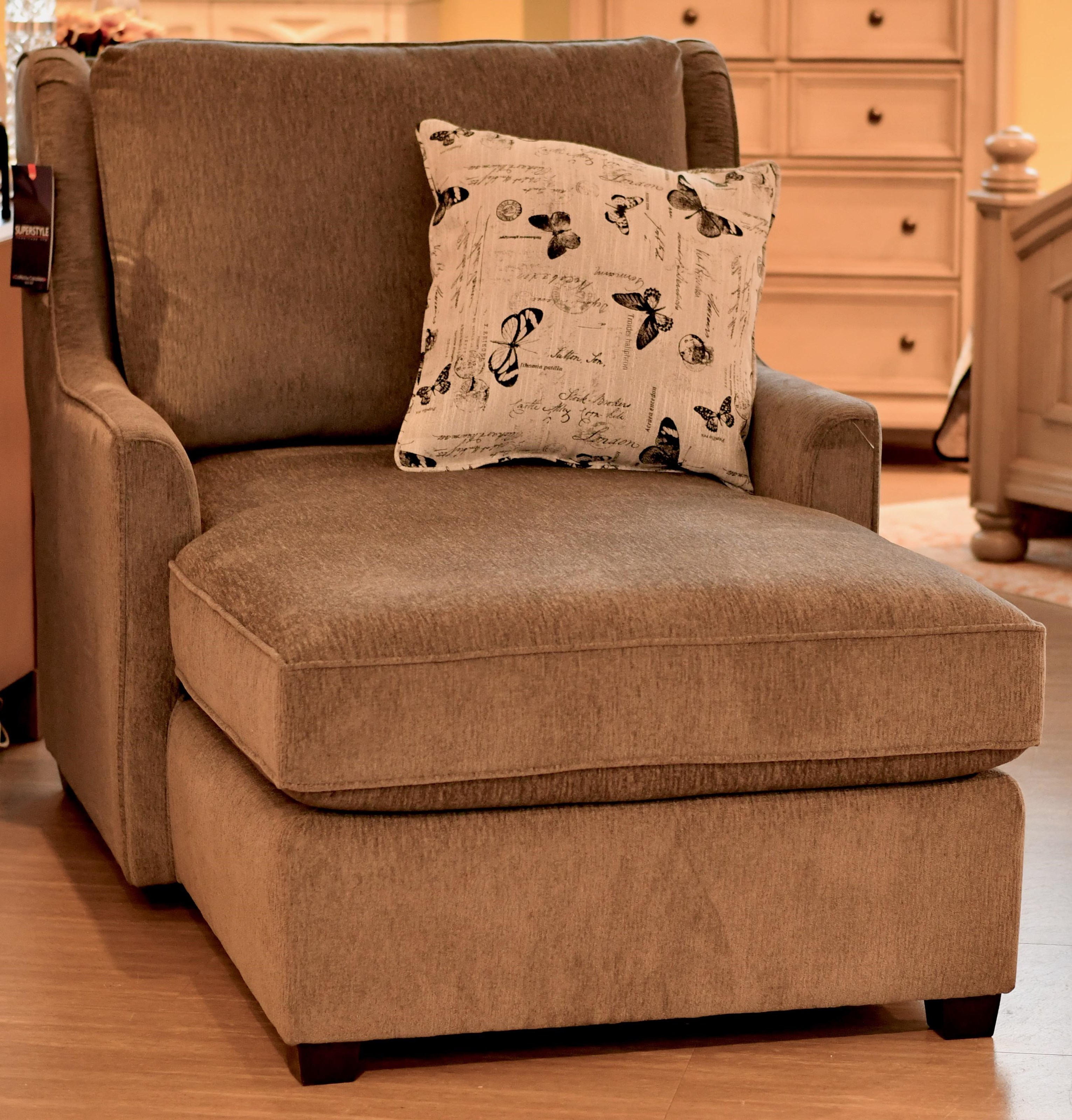 Evolution Designs Chaise by Southside Designs at Bennett's Furniture and Mattresses