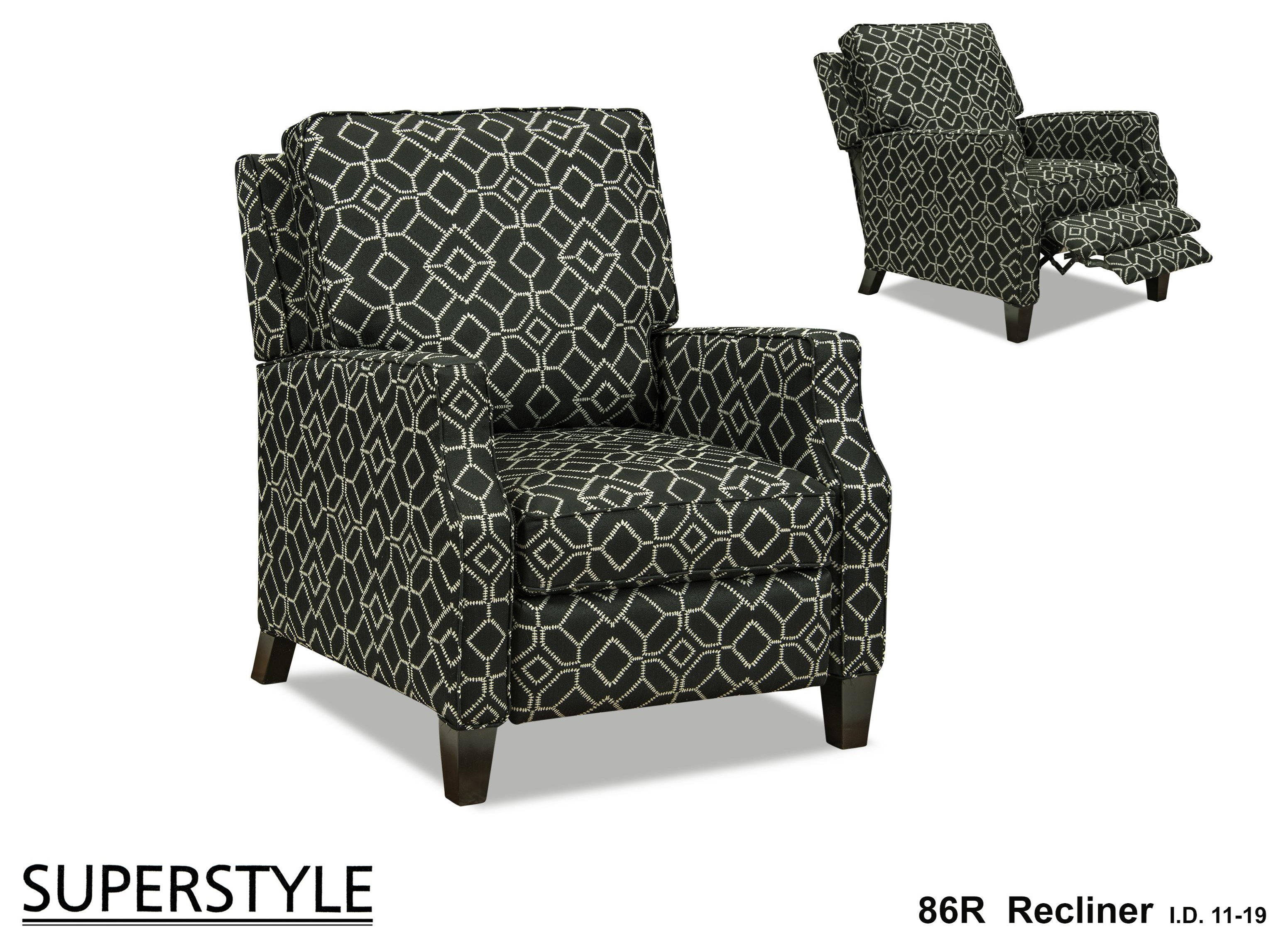 86R Jessica Recliner by Superstyle at Stoney Creek Furniture
