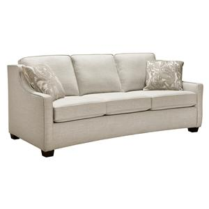 Condo Sized Sofa with Two Seats