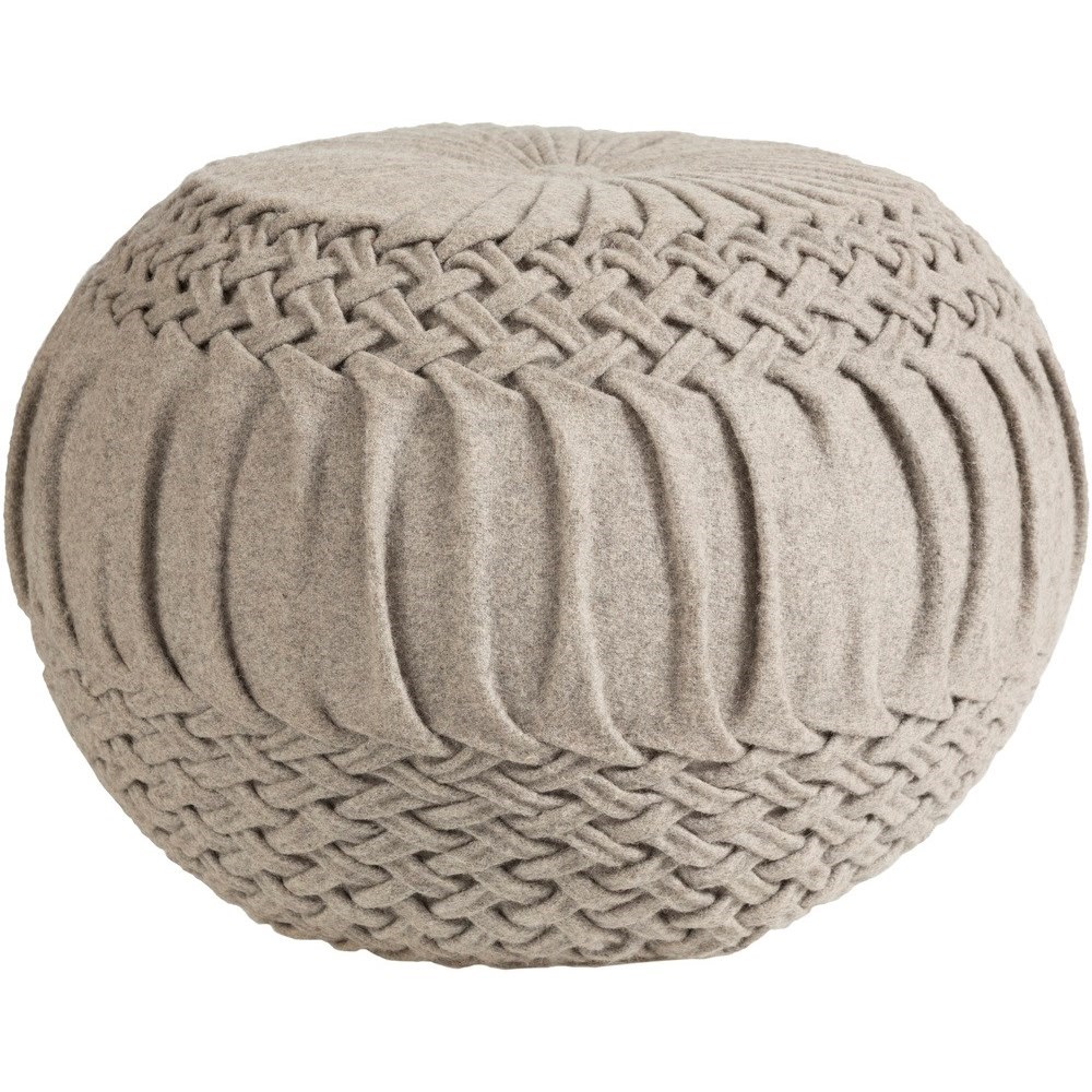Alana 18 x 18 x 14 Cube Pouf by 9596 at Becker Furniture