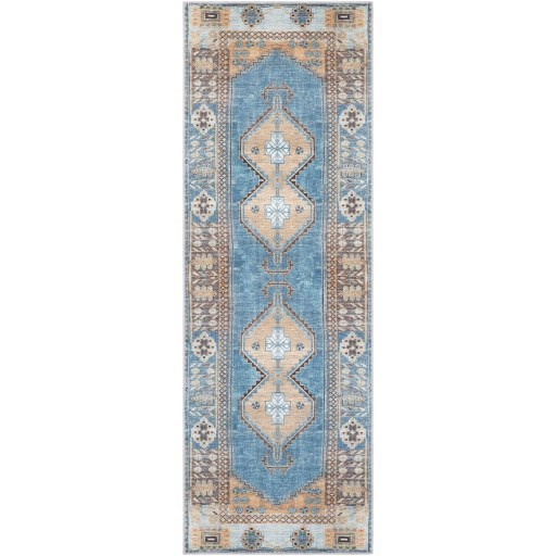 """Antiquity 2'7"""" x 7'3"""" Rug by 9596 at Becker Furniture"""