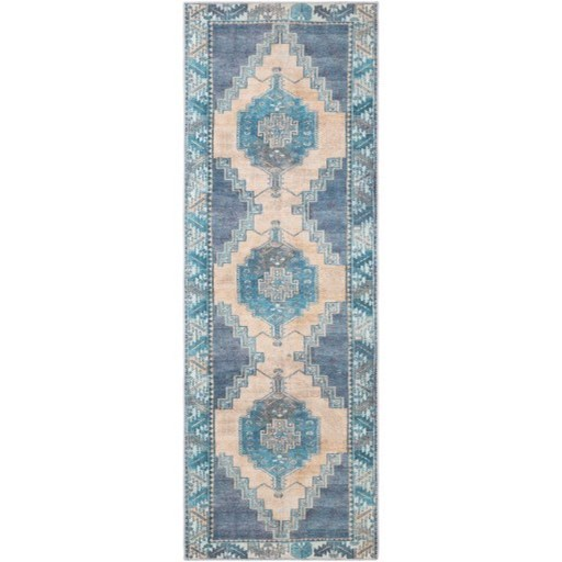 "Antiquity 2'7"" x 7'3"" Rug by Surya at SuperStore"