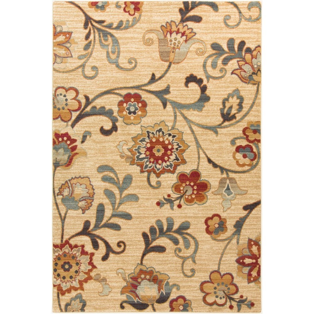 "Arabesque 6'7"" x 9'6"" Rug by 9596 at Becker Furniture"