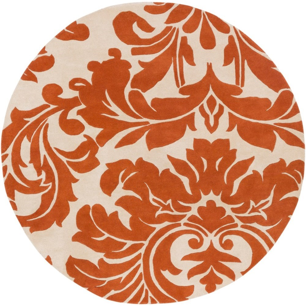 Athena 8' x 8' Round Rug by Surya at Fashion Furniture
