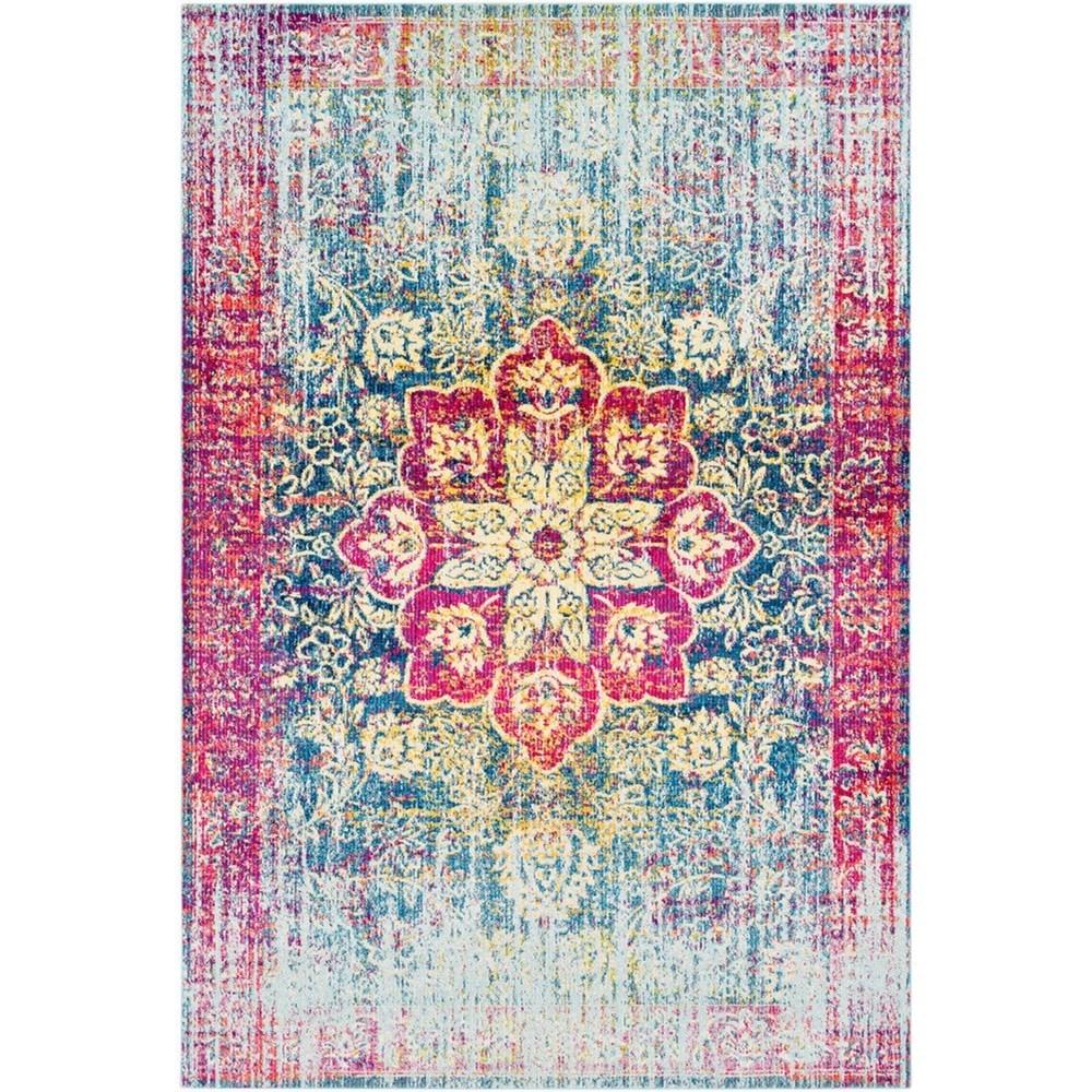 """Aura silk 5'3"""" x 7'6"""" Rug by Surya at Wayside Furniture"""
