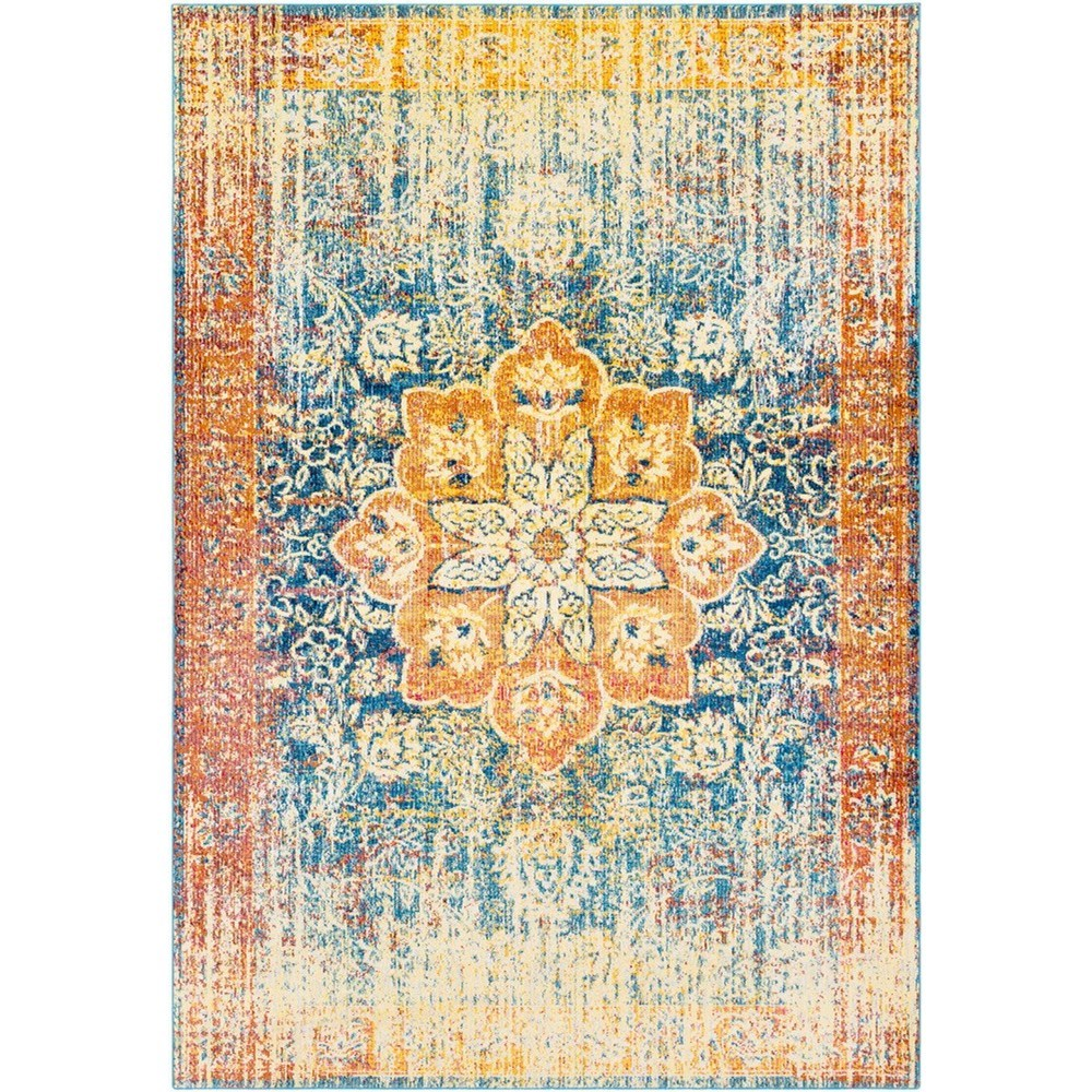 "Aura silk 7'10"" x 10'3"" Rug by 9596 at Becker Furniture"