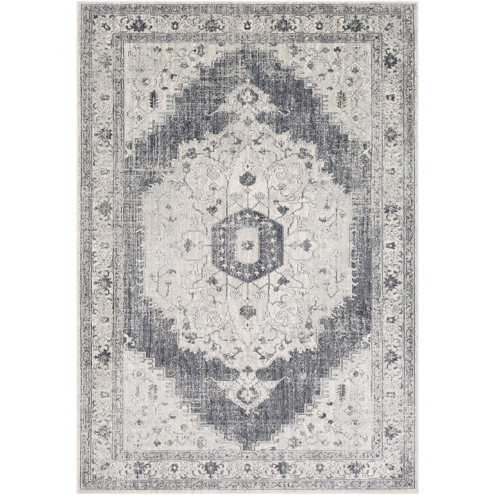 "Aura silk 2'7"" x 7'6"" Runner by 9596 at Becker Furniture"