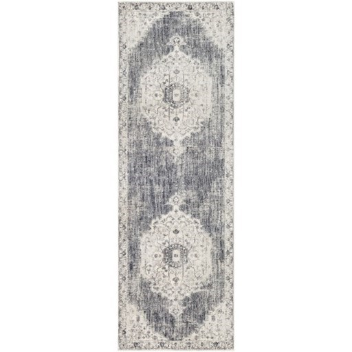 "Aura silk 5'3"" x 7'6"" Rug by 9596 at Becker Furniture"