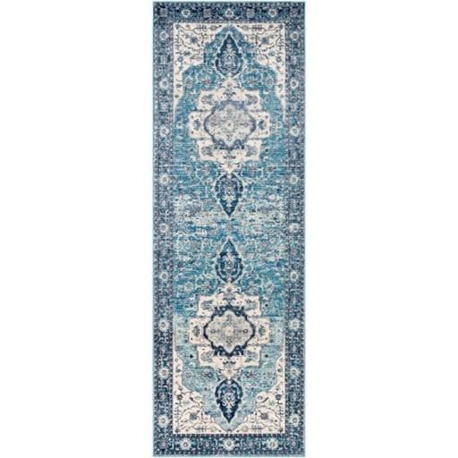 """Aura silk 6'7"""" x 9' Rug by Surya at SuperStore"""